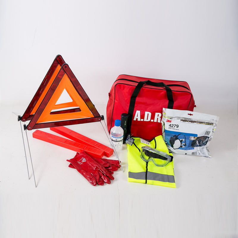 ADR Safety Kit with Respirator - 30ltr Bag