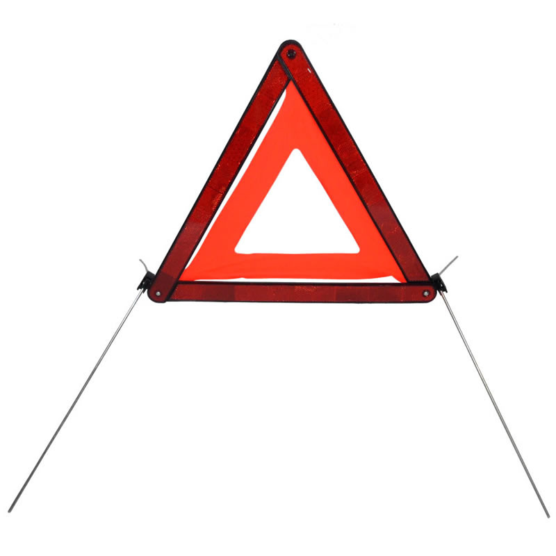 Reflective Self Standing Warning Triangle ECE R27