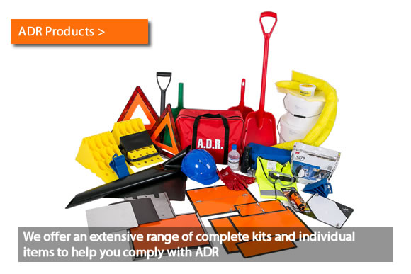 We offer an extensive range of complete kits and individual items to help you comply with ADR