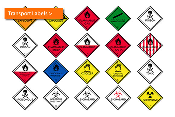 Vehicle Transport Labels